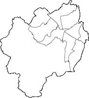 北海道札幌市(さっぽろし)の白地図無料ダウンロード