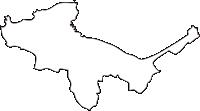 北海道小樽市(おたるし)の白地図無料ダウンロード