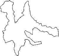 北海道旭川市(あさひかわし)の白地図無料ダウンロード