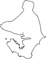 北海道室蘭市(むろらんし)の白地図無料ダウンロード