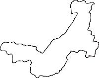北海道帯広市(おびひろし)の白地図無料ダウンロード