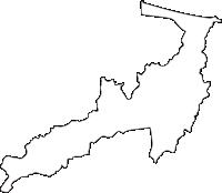 北海道北見市(きたみし)の白地図無料ダウンロード