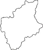 北海道夕張市(ゆうばりし)の白地図無料ダウンロード