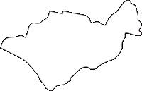 北海道美唄市(びばいし)の白地図無料ダウンロード
