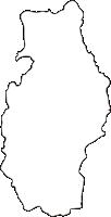 北海道芦別市(あしべつし)の白地図無料ダウンロード