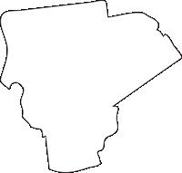 北海道江別市(えべつし)の白地図無料ダウンロード