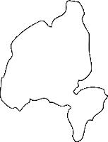 北海道赤平市(あかびらし)の白地図無料ダウンロード