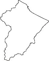 北海道紋別市(もんべつし)の白地図無料ダウンロード