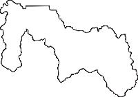 北海道士別市(しべつし)の白地図無料ダウンロード