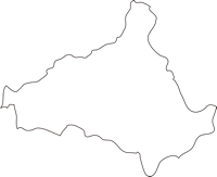 北海道三笠市(みかさし)の白地図無料ダウンロード