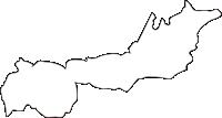 北海道千歳市(ちとせし)の白地図無料ダウンロード