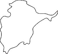 ���������������������������������������の白地図無料ダウンロード