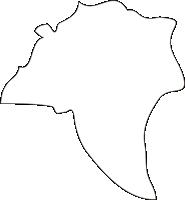 北海道歌志内市(うたしないし)の白地図無料ダウンロード