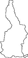 北海道深川市(ふかがわし)の白地図無料ダウンロード