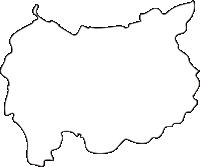 北海道富良野市(ふらのし)の白地図無料ダウンロード