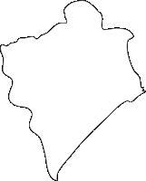 北海道登別市(のぼりべつし)の白地図無料ダウンロード