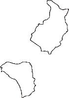 北海道伊達市(だてし)の白地図無料ダウンロード