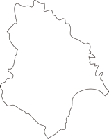 北海道北斗市(ほくとし)の白地図無料ダウンロード