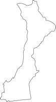 北海道石狩振興局当別町(とうべつちょう)の白地図無料ダウンロード