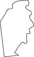北海道石狩振興局新篠津村(しんしのつむら)の白地図無料ダウンロード