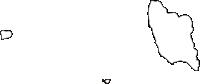 北海道渡島総合振興局松前町(まつまえちょう)の白地図無料ダウンロード