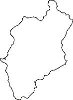 北海道檜山振興局今金町(いまかねちょう)の白地図無料ダウンロード