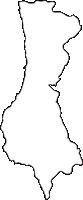 北海道檜山振興局せたな町(せたなちょう)の白地図無料ダウンロード