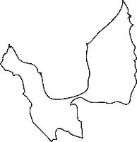 北海道後志総合振興局寿都町(すっつちょう)の白地図無料ダウンロード
