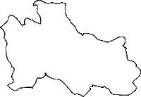 北海道後志総合振興局黒松内町(くろまつないちょう)の白地図無料ダウンロード