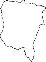 北海道後志総合振興局蘭越町(らんこしちょう)の白地図無料ダウンロード