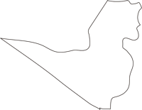 北海道後志総合振興局喜茂別町(きもべつちょう)の白地図無料ダウンロード