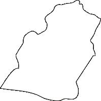 北海道後志総合振興局京極町(きょうごくちょう)の白地図無料ダウンロード
