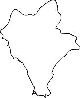 北海道後志総合振興局泊村(とまりむら)の白地図無料ダウンロード