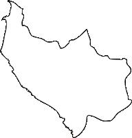 北海道後志総合振興局神恵内村(かもえないむら)の白地図無料ダウンロード