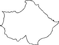 北海道後志総合振興局積丹町(しゃこたんちょう)の白地図無料ダウンロード