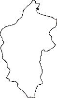 北海道後志総合振興局古平町(ふるびらちょう)の白地図無料ダウンロード