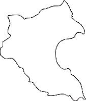 北海道後志総合振興局仁木町(にきちょう)の白地図無料ダウンロード