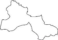 北海道後志総合振興局余市町(よいちちょう)の白地図無料ダウンロード