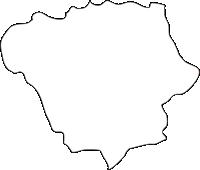 北海道後志総合振興局赤井川村(あかいがわむら)の白地図無料ダウンロード