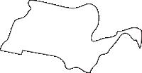 北海道空知総合振興局奈井江町(ないえちょう)の白地図無料ダウンロード