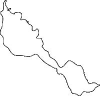 北海道空知総合振興局由仁町(ゆにちょう)の白地図無料ダウンロード