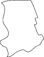 北海道空知総合振興局妹背牛町(もせうしちょう)の白地図無料ダウンロード