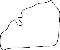 北海道空知総合振興局秩父別町(ちっぷべつちょう)の白地図無料ダウンロード