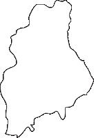 北海道空知総合振興局沼田町(ぬまたちょう)の白地図無料ダウンロード