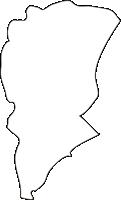 北海道上川総合振興局鷹栖町(たかすちょう)の白地図無料ダウンロード