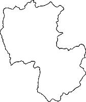 北海道上川総合振興局上川町(かみかわちょう)の白地図無料ダウンロード