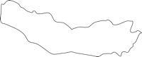 北海道上川総合振興局東川町(ひがしかわちょう)の白地図無料ダウンロード