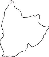 北海道上川総合振興局剣淵町(けんぶちちょう)の白地図無料ダウンロード