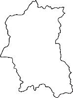 北海道上川総合振興局下川町(しもかわちょう)の白地図無料ダウンロード