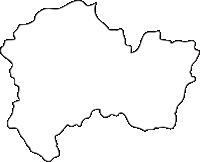 北海道上川総合振興局美深町(びふかちょう)の白地図無料ダウンロード